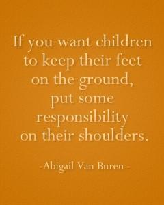 children responsibility