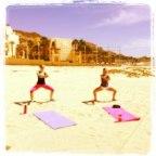 beach squat