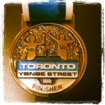 TYS10K medal