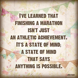 marathon state of mind
